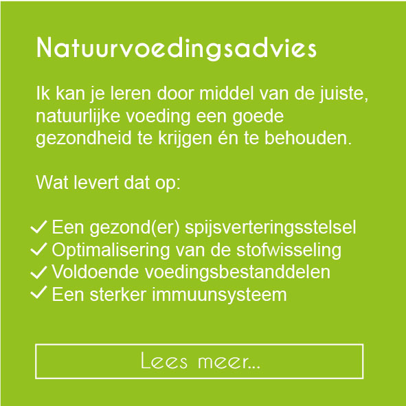 Natuurvoedingsadvies